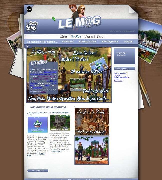 Daily Sims, Sims 2 & 3 Mag32810