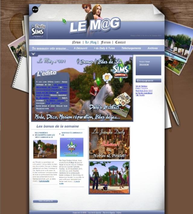 Daily Sims, Sims 2 & 3 Mag33110