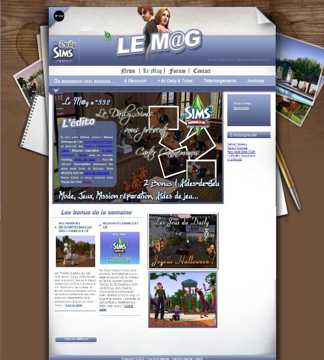 Daily Sims, Sims 2 & 3 Mag33210