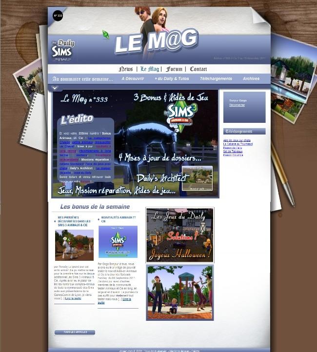 Daily Sims, Sims 2 & 3 Mag33310