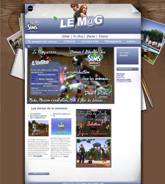 Daily Sims, Sims 2 & 3 Mag33410