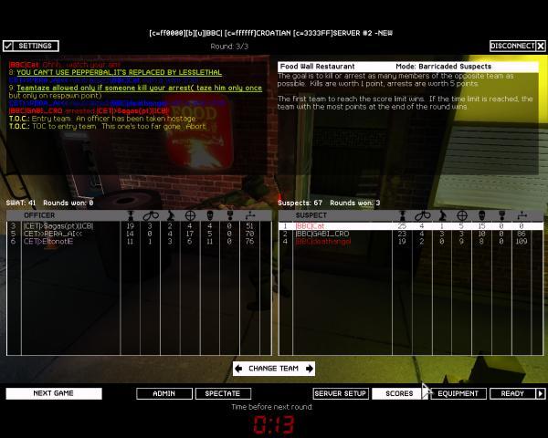 BBC vs CET 2:0 WON Bbccet12