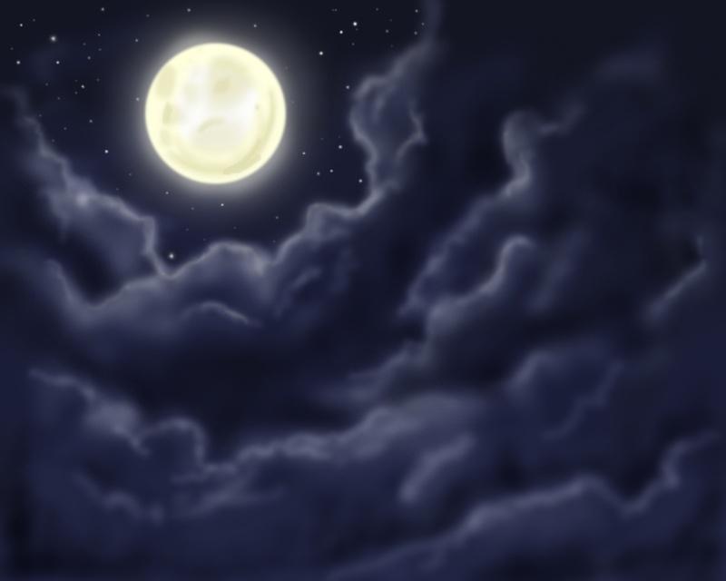 White Rose ~ La lune brille sur Londres Moon-210