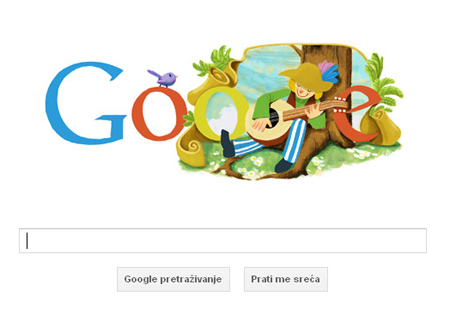 Google čestitao rođendan Miroslavu Krleži Google10