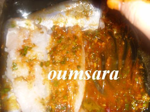 Merlans cuits au four à la marocaine aux courgettes et tomates 411
