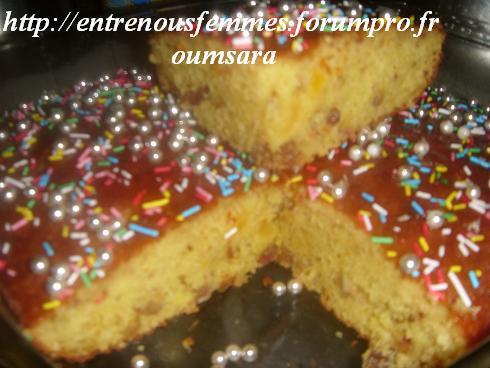Maskouta ou Meskouta aux dattes et abricots /Gâteau Marocain aux dattes,  noisettes et abricots...... Cake410