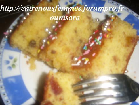 Maskouta ou Meskouta aux dattes et abricots /Gâteau Marocain aux dattes,  noisettes et abricots...... Cake510