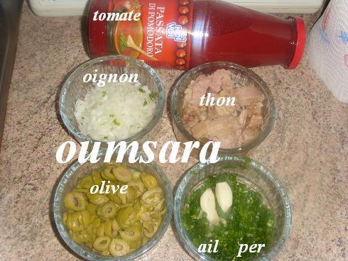 Sauce de tomate au thon S110