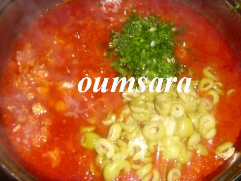 Sauce de tomate au thon S710