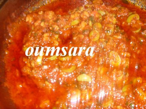 Sauce de tomate au thon S810