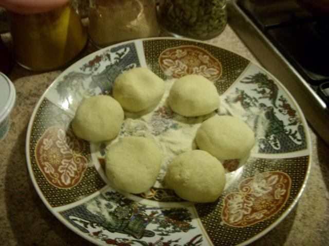 Mini-Harcha ou Mini-7archa marocaine farcie au ricotta et olives noires Varie_16