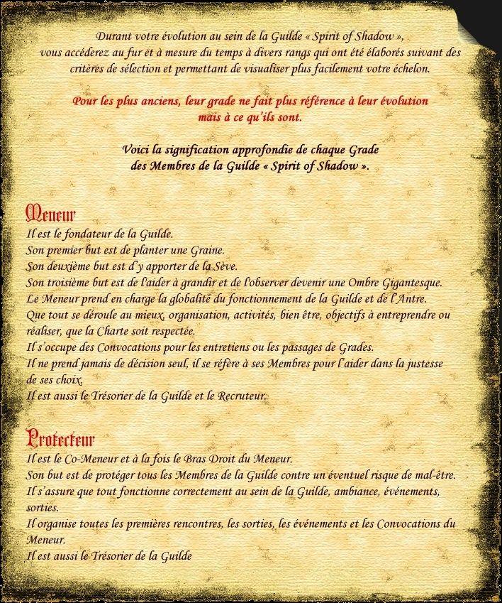 """LES GRADES - Définition au sein de la Guilde """"Spirit of Shadow"""" Dafi1v10"""