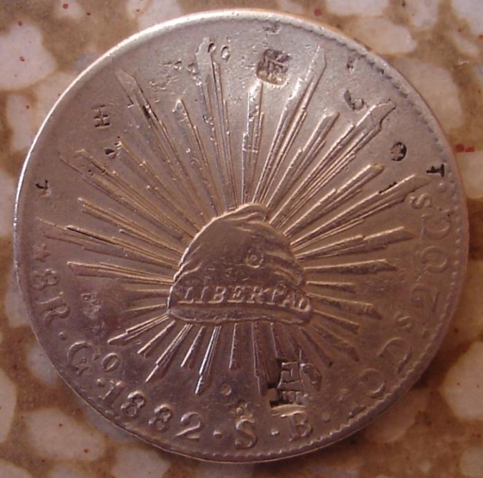 México, 8 reales, 1882. Copia_20