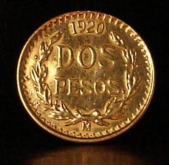México, 2 pesos, 1920. Dsc05411