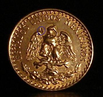 México, 2 pesos, 1920. Dsc05412