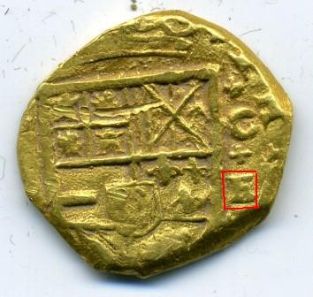 2 Escudos de oro de Felipe IV (Cartagena de Indias, 1633) Img35310