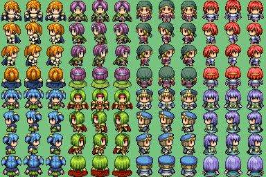 Plusieurs characters que j'ai trouvé sur plusieurs site !! =] Charac16