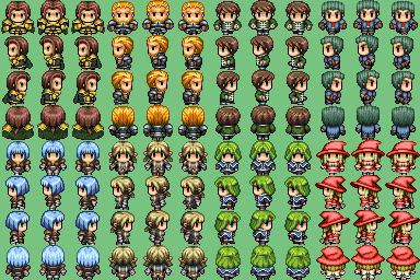 Plusieurs characters que j'ai trouvé sur plusieurs site !! =] Charac25