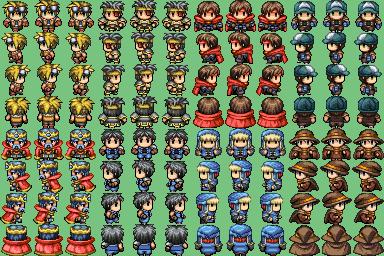 Plusieurs characters que j'ai trouvé sur plusieurs site !! =] Vxc01a10