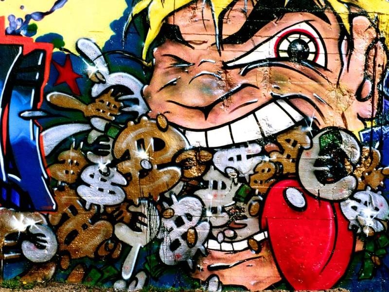 GRAFFITI A RAP+hocoo 10x-5510