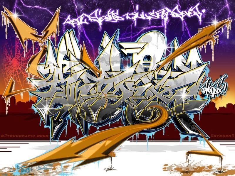 GRAFFITI A RAP+hocoo Antonx10