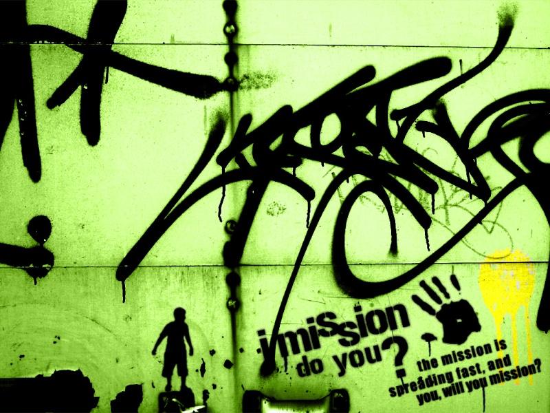 GRAFFITI A RAP+hocoo Missio10