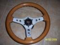 Volante desportivo madeira + cubo MOMO 100_3610