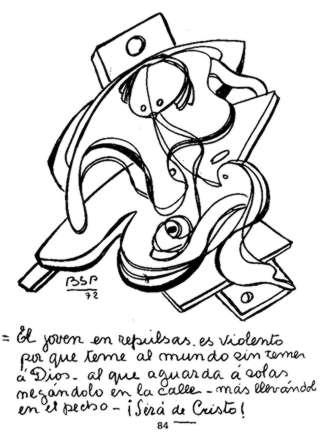 """El contactado Benjamín Solari Parravicini (el """"Nostradamus"""" argentino) 069_jp10"""