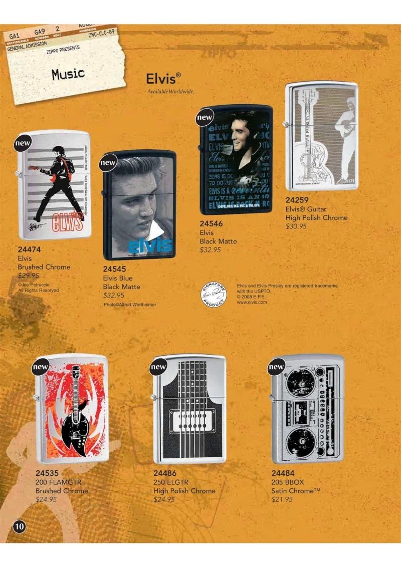 Catalogue ZIPPO 2009 Complete line (version américaine) 1111