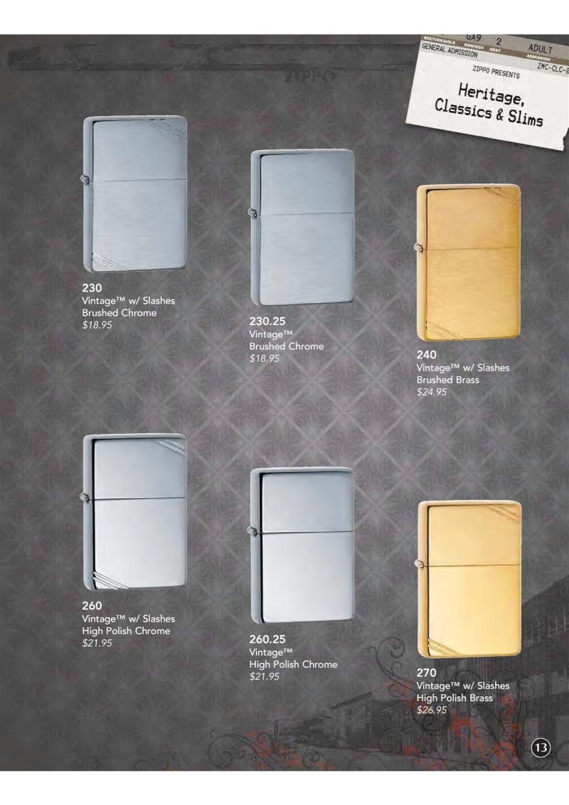 Catalogue ZIPPO 2009 Complete line (version américaine) 1413