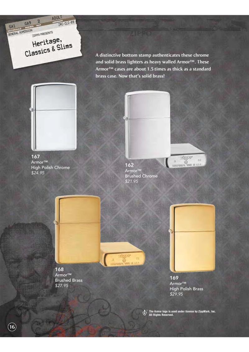 Catalogue ZIPPO 2009 Complete line (version américaine) 1711