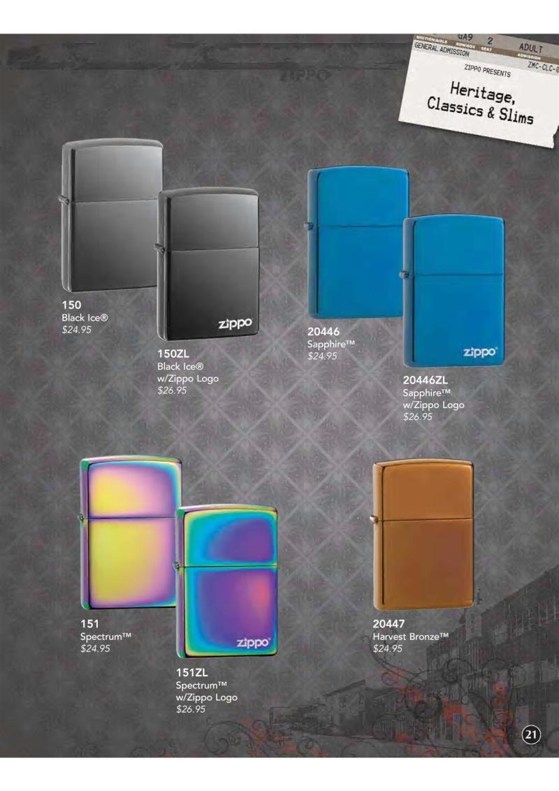 Catalogue ZIPPO 2009 Complete line (version américaine) 2211