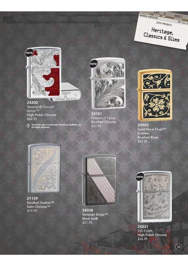 Catalogue ZIPPO 2009 Complete line (version américaine) 3210