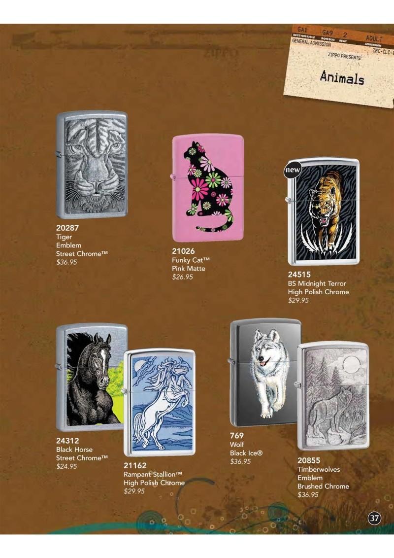 Catalogue ZIPPO 2009 Complete line (version américaine) 3810