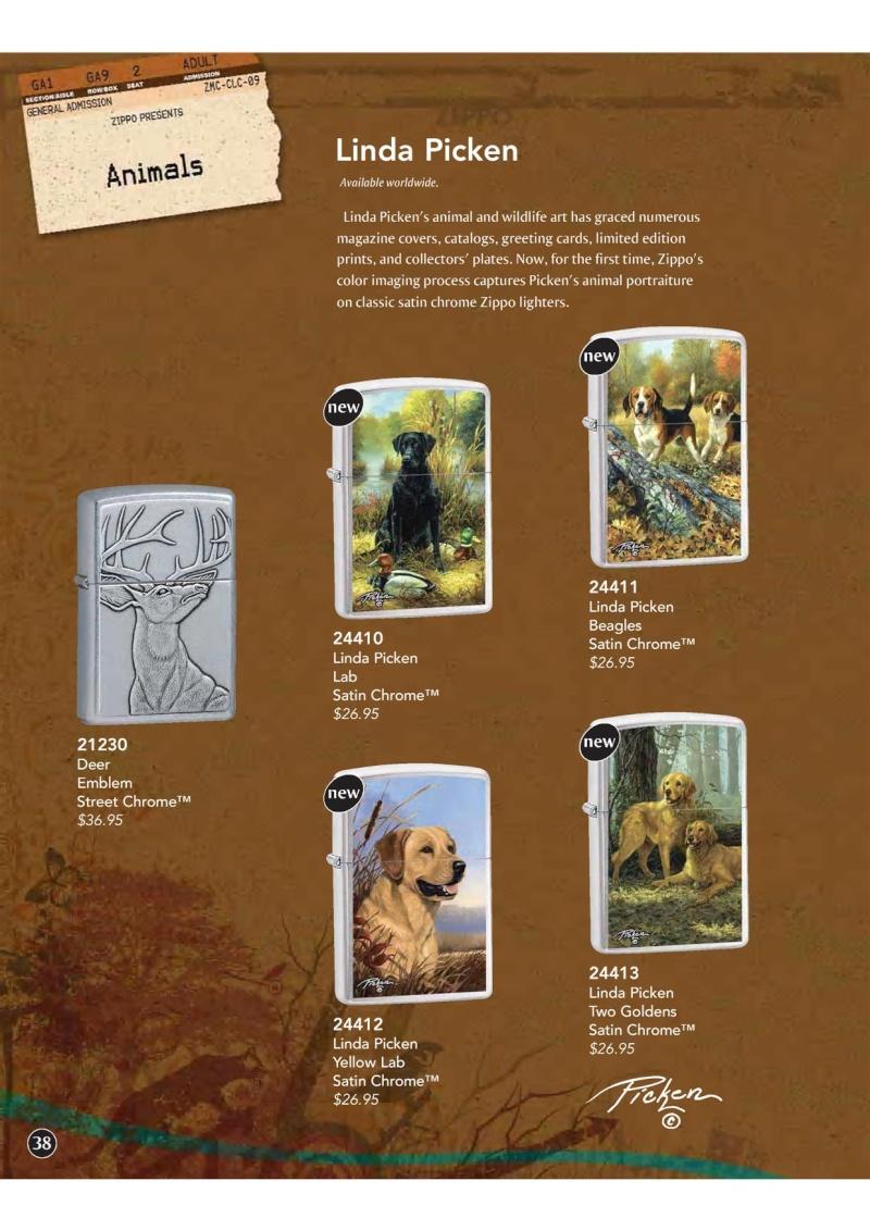 Catalogue ZIPPO 2009 Complete line (version américaine) 3910