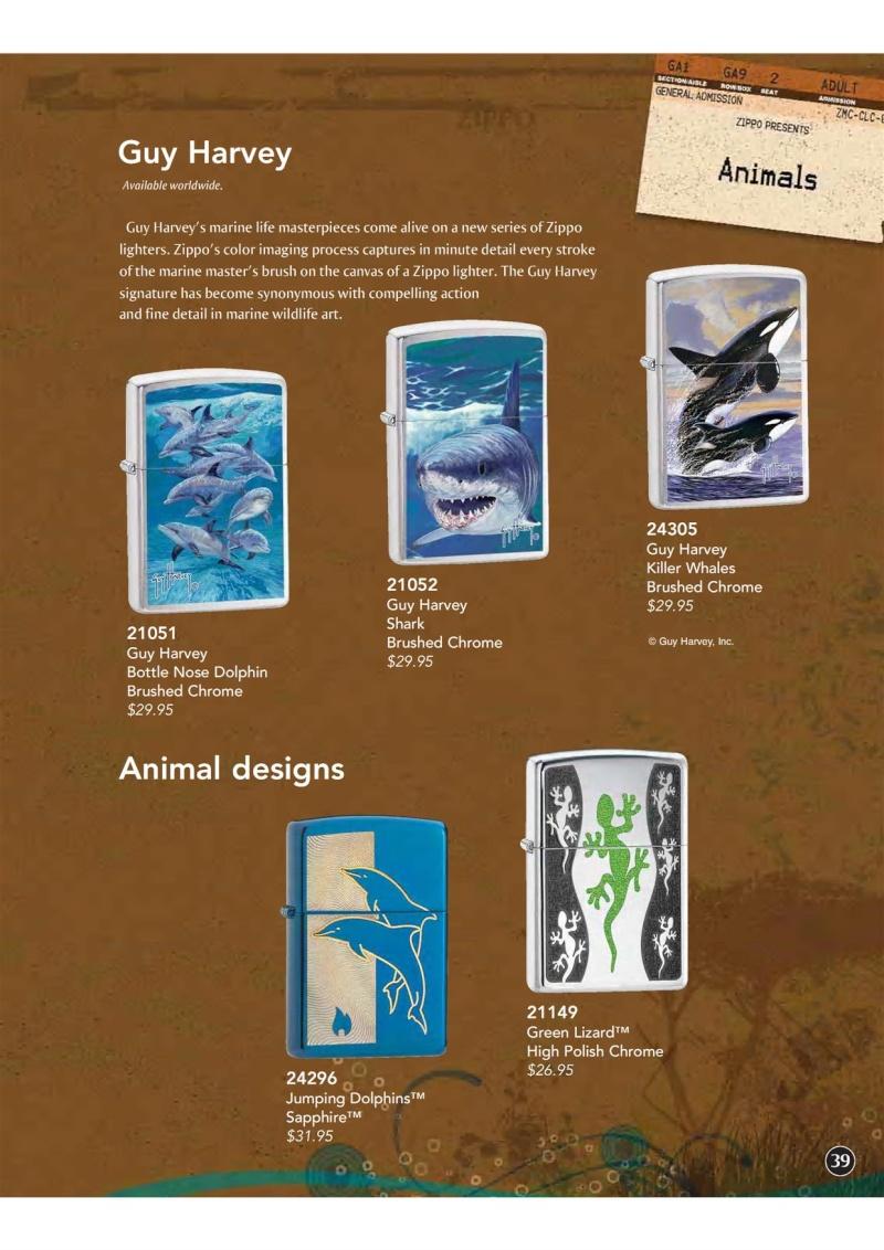Catalogue ZIPPO 2009 Complete line (version américaine) 4010