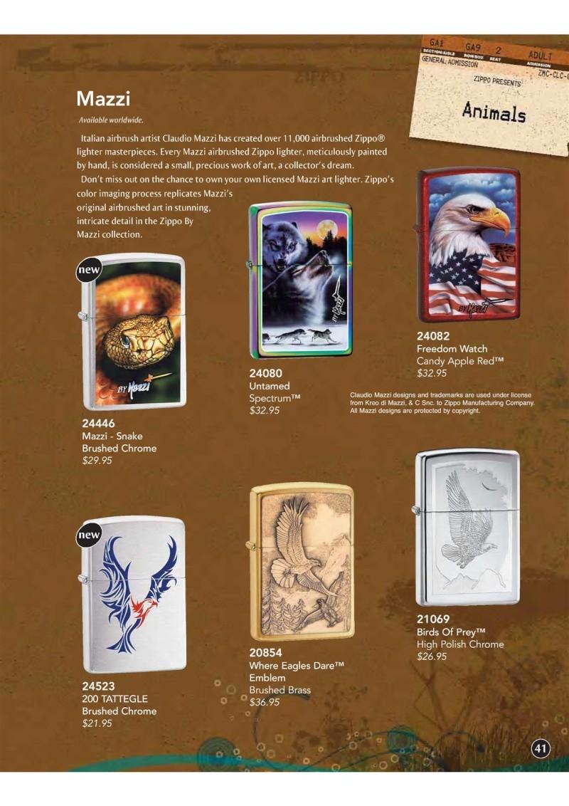 Catalogue ZIPPO 2009 Complete line (version américaine) 4210