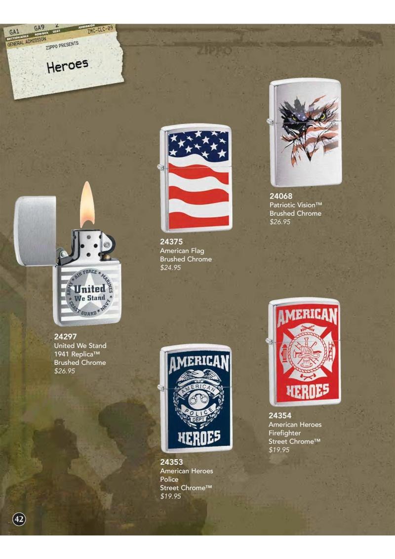 Catalogue ZIPPO 2009 Complete line (version américaine) 4310
