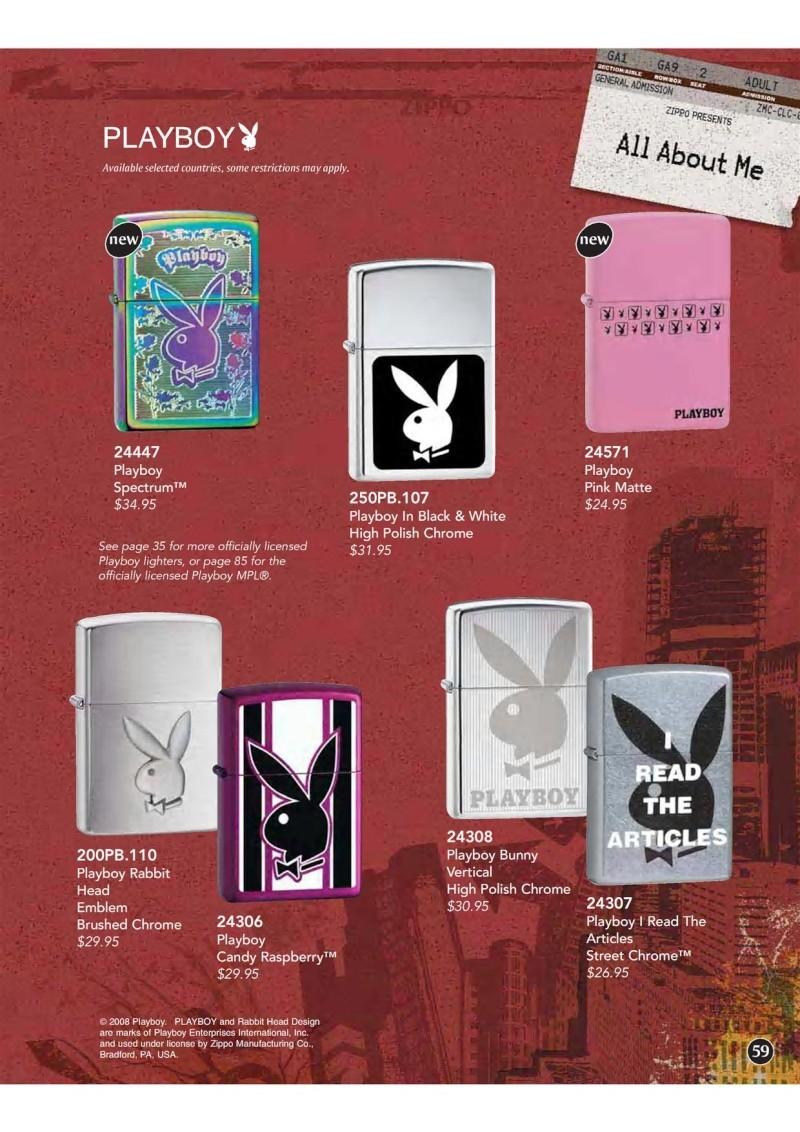 Catalogue ZIPPO 2009 Complete line (version américaine) 5910