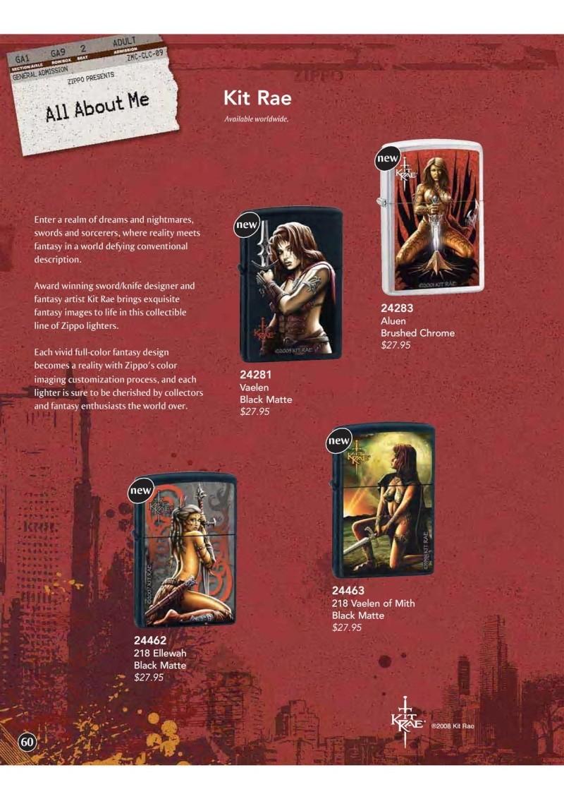 Catalogue ZIPPO 2009 Complete line (version américaine) 6010