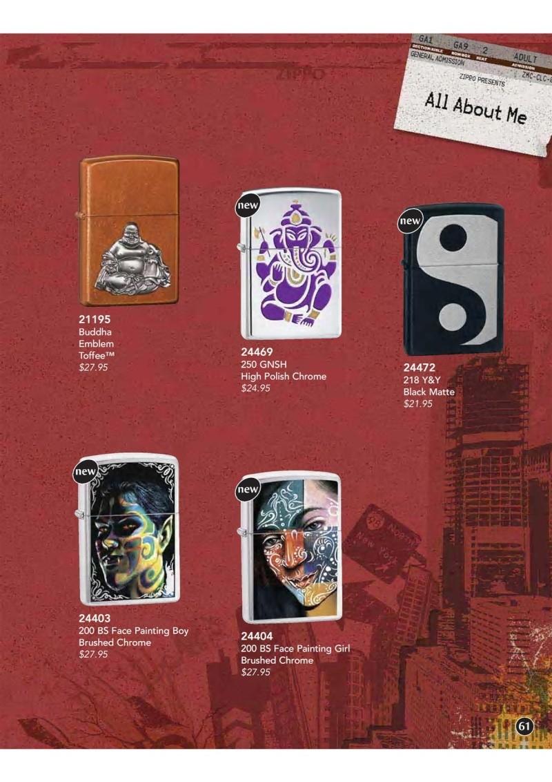 Catalogue ZIPPO 2009 Complete line (version américaine) 6110