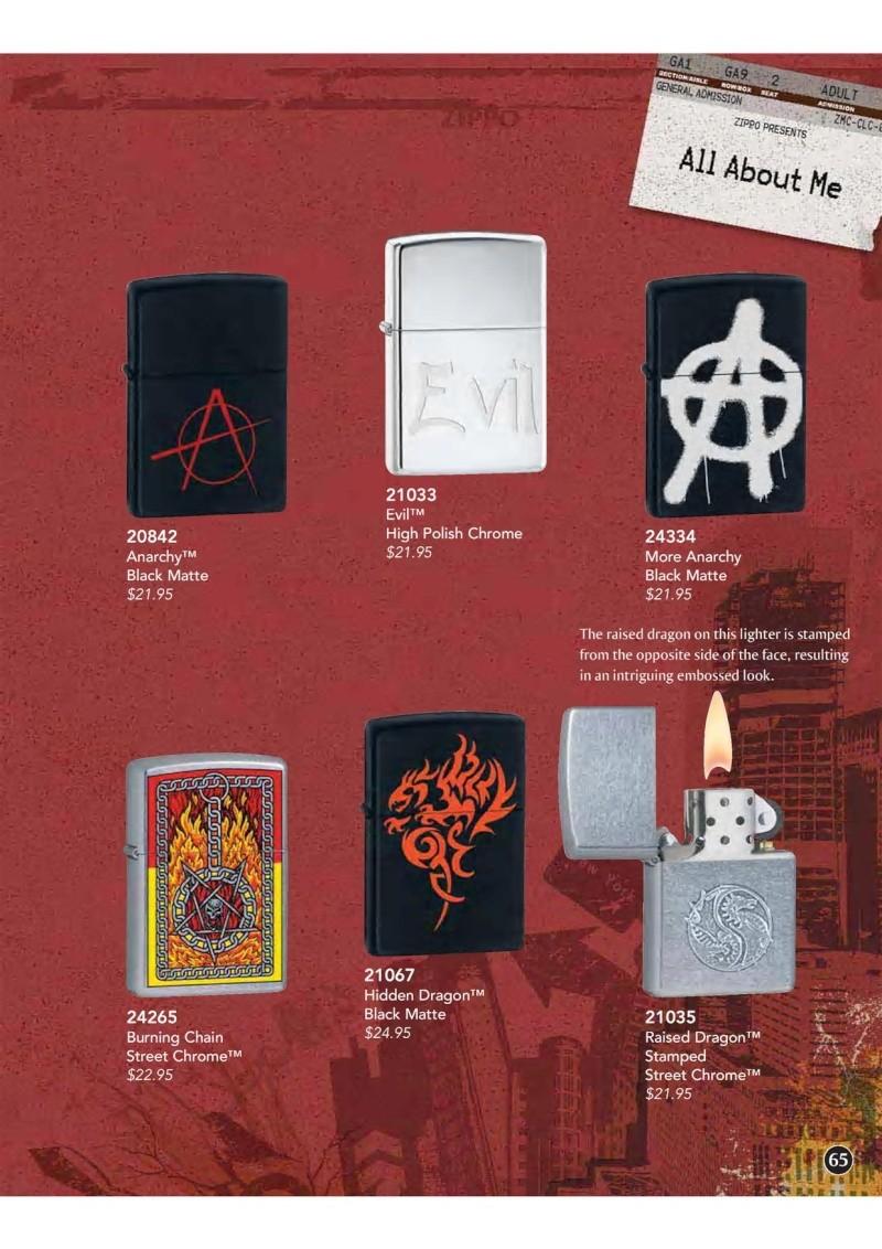 Catalogue ZIPPO 2009 Complete line (version américaine) 6510