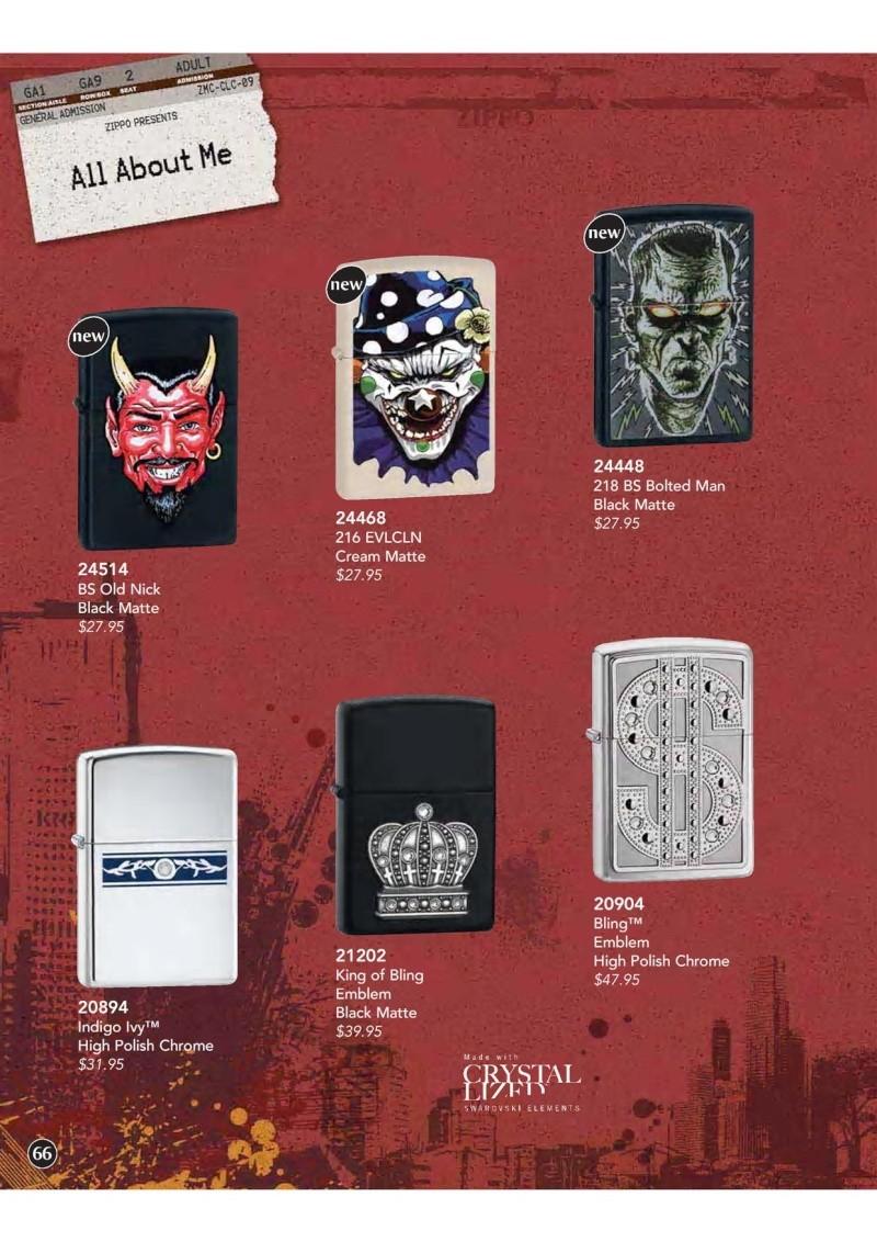 Catalogue ZIPPO 2009 Complete line (version américaine) 6610