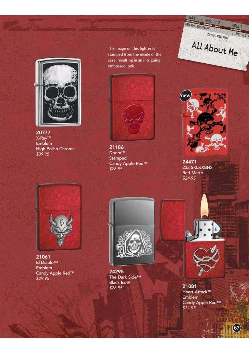 Catalogue ZIPPO 2009 Complete line (version américaine) 6710