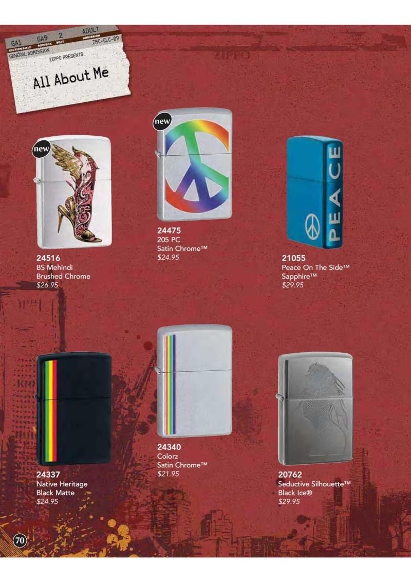 Catalogue ZIPPO 2009 Complete line (version américaine) 7010