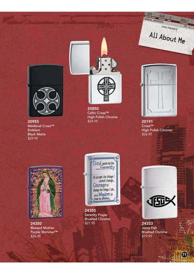 Catalogue ZIPPO 2009 Complete line (version américaine) 7110