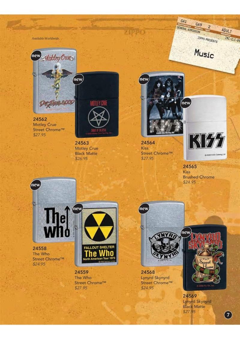 Catalogue ZIPPO 2009 Complete line (version américaine) 811