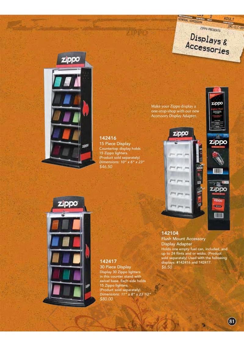 Catalogue ZIPPO 2009 Complete line (version américaine) 8110