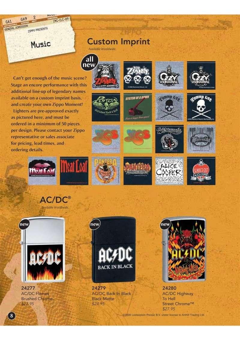 Catalogue ZIPPO 2009 Complete line (version américaine) 911