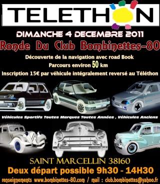 telethon en isere dimanche 4 dec Talath14